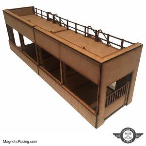 Slot car Pit Buildings 1:32 Scale