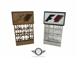 F1 Classic 1:32 scale Billboards for Scalextric tracks from Magnetic Racing