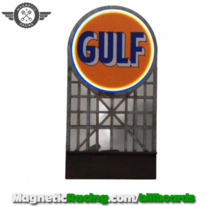 Flashing Light up Gulf Sign 1:32 scale