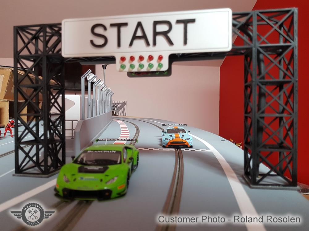 Magnetic Racing Start Gantry