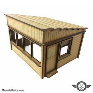 009 large marshal hut