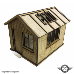 The First Aid Hut for Scalextric tracks 1:32 scale