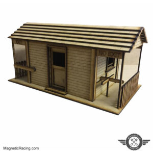 Turnstyle Ticket office for scalextric tracks Classic scalextric building
