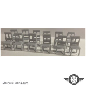 1:32 scale desk chairs for Scalextric buildings
