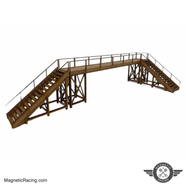 Scalextric Foot Bridge 1:32 scale from Magnetic Racing