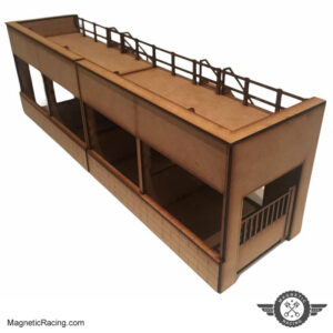 1:64 scale classic pit builings for AFX slot car racing