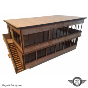 143 scale timekeepers building for slot car tracks reims