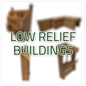 Low Relief Buildings