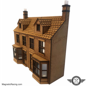 1:32 scale low relief houses