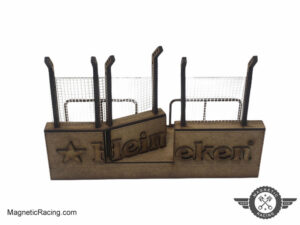 magnetic Racing pit walls 1:32 scale