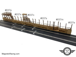 1:32 scale pit walls for Scalextric Monza 037