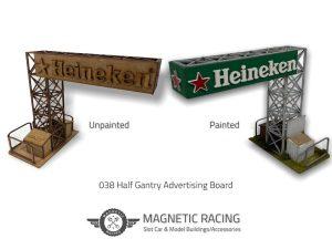 Half Gantry Advertising Board