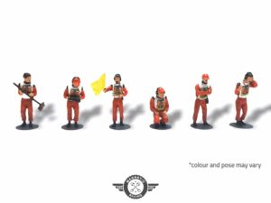 6 Marshals Multi Pack Painted from Magnetic Racing