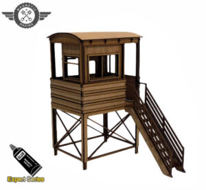1:32 scale scalextric marshal hut Suzuka Post 12