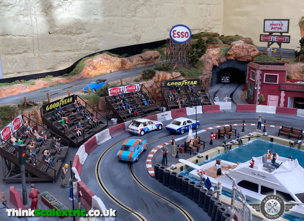 Scalextric Grandstands and Billboards by Magnetic Racing