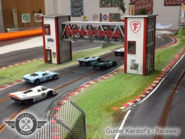 Firestone crosswalk 1:32 scale magnetic racing
